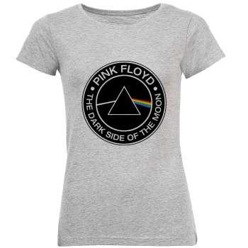 تی شرت آستین کوتاه زنانه طرح پینک فلوید مدل S372