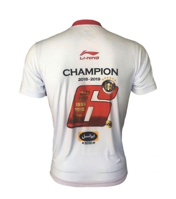 تی شرت ورزشی مردانه لینینگ تیم پرسپولیس کد ۱۲۴۴