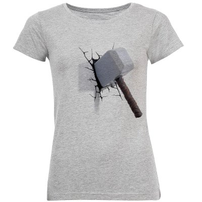 تی شرت آستین کوتاه زنانه طرح تبر مدل S346