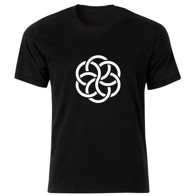 تی شرت مردانه طرح زنجیر کد 34317