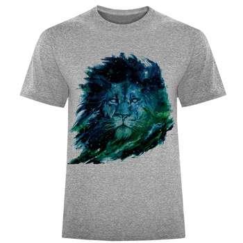 تی شرت مردانه طرح شیر کد S151