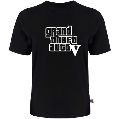 Photo of تی شرت آستین کوتاه مردانه آکو طرح GTA-V کد AL27