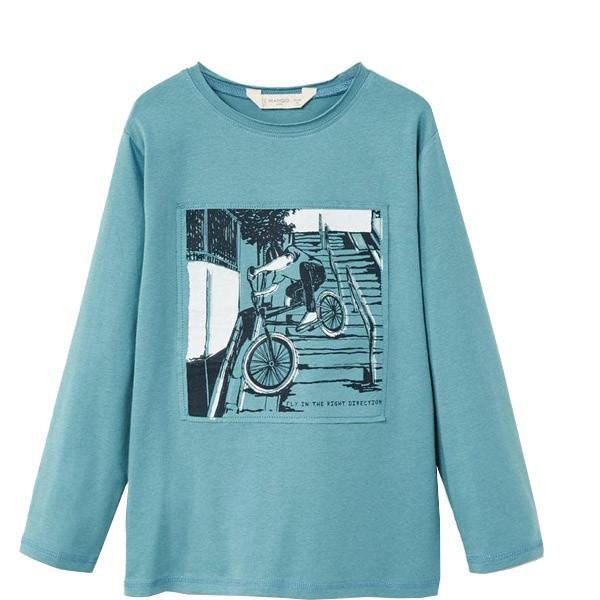 تی شرت پسرانه مانگو کد 1