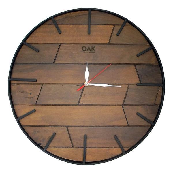 ساعت دیواری اوک طرح روستیک کد B7041