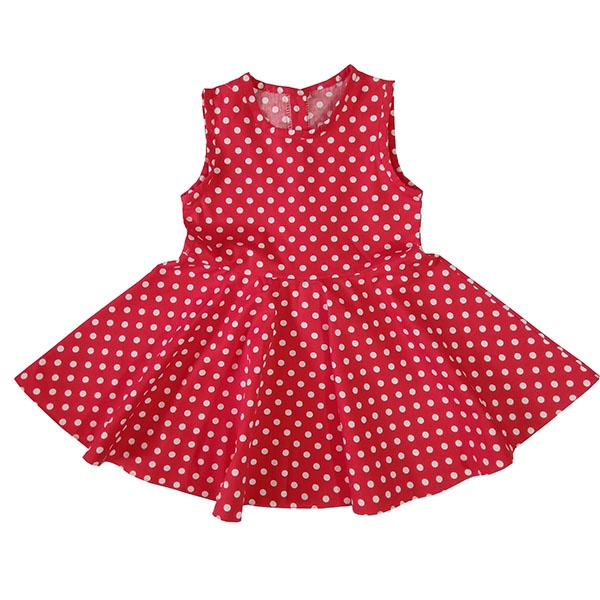 پیراهن دخترانه مدل باران کد 002