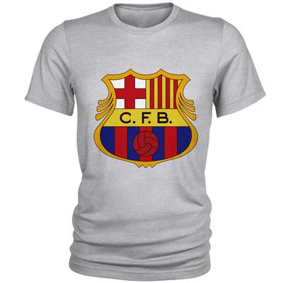 تصویر تی شرت مردانه طرح بارسلونا کد S68