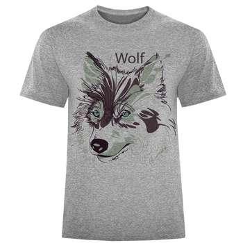 تی شرت مردانه طرح گرگ کد S229