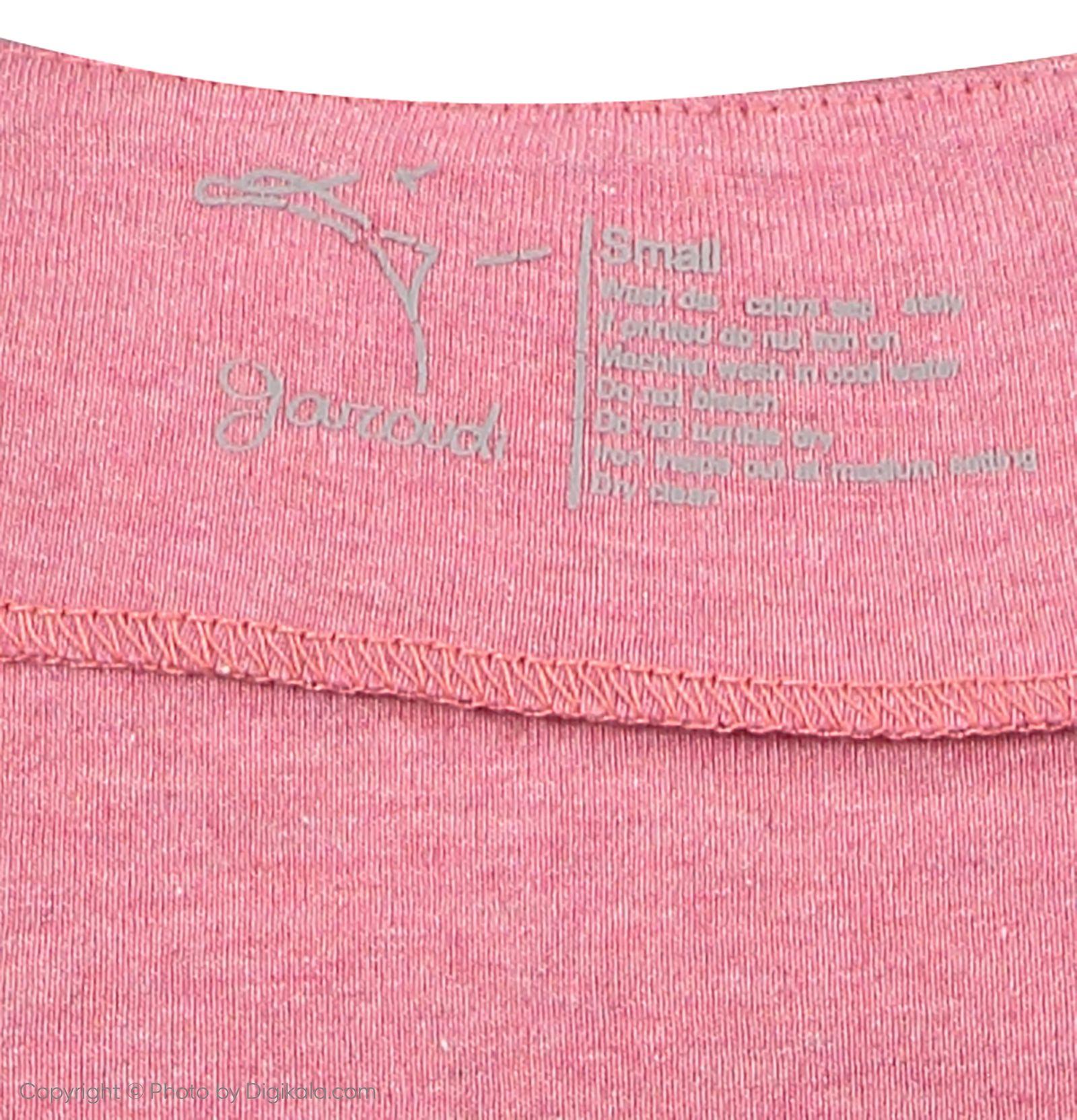 تی شرت زنانه گارودی مدل 1003113012-86 -  - 4