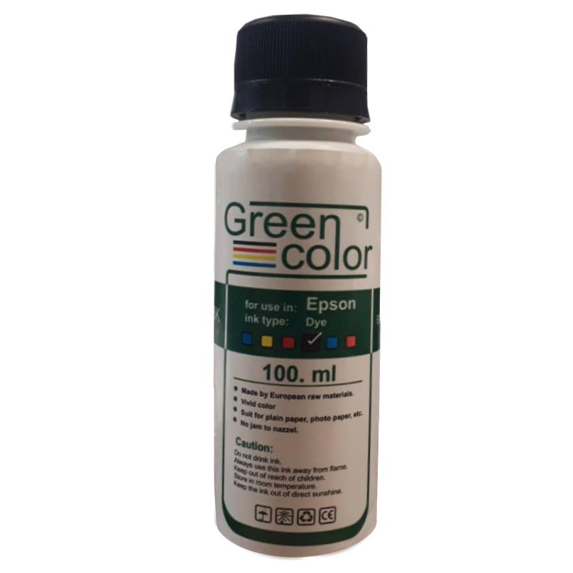 جوهر مخزن مشکی گرین کالر مدل R1 حجم 100 میلی لیتر