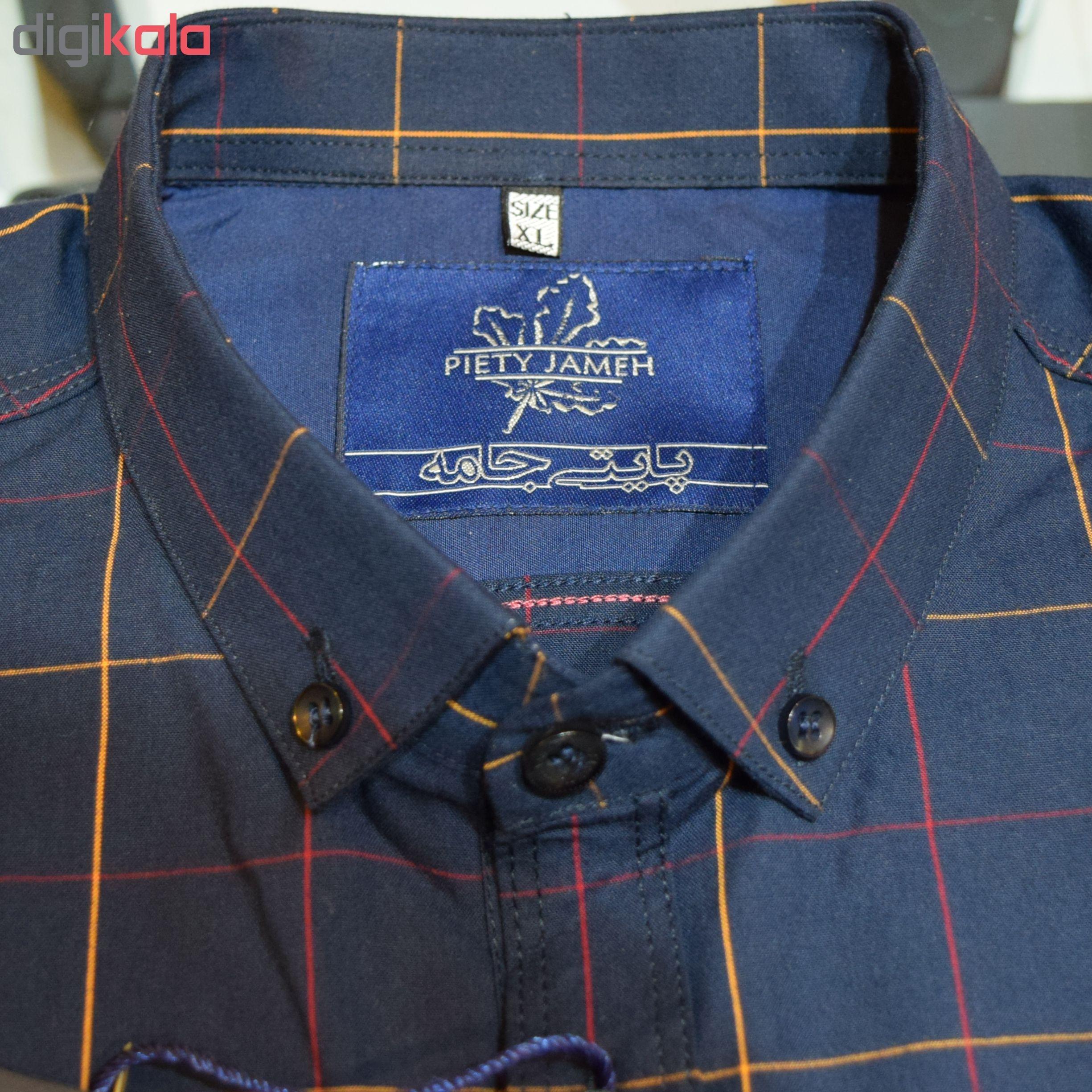 پیراهن مردانه پایتی جامه کد 1870977 main 1 5