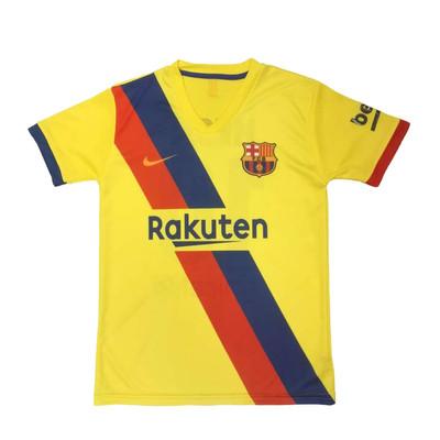تی شرت ورزشی مردانه طرح بارسلونا کد 2020