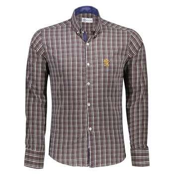 پیراهن آستین بلند مردانه کد M02137