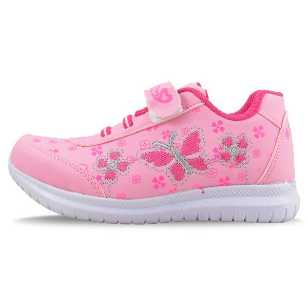 کفش ورزشی دخترانه طرح پروانه کد 4444