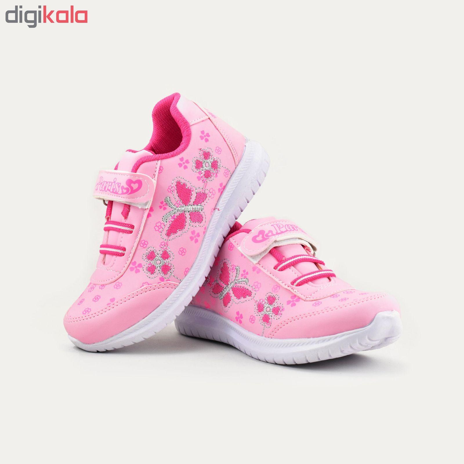 کفش ورزشی دخترانه طرح پروانه کد 4444 main 1 4