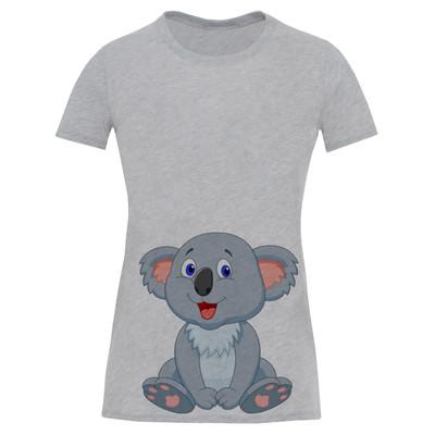 تی شرت آستین کوتاه زنانه طرح کوالا کد S511