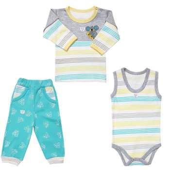 ست ۳ تکه لباس نوزادی پسرانه طرح کوالا
