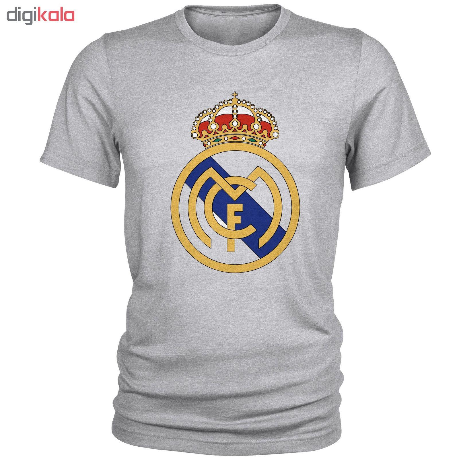 تی شرت مردانه طرح رئال مادرید کد S66 main 1 1