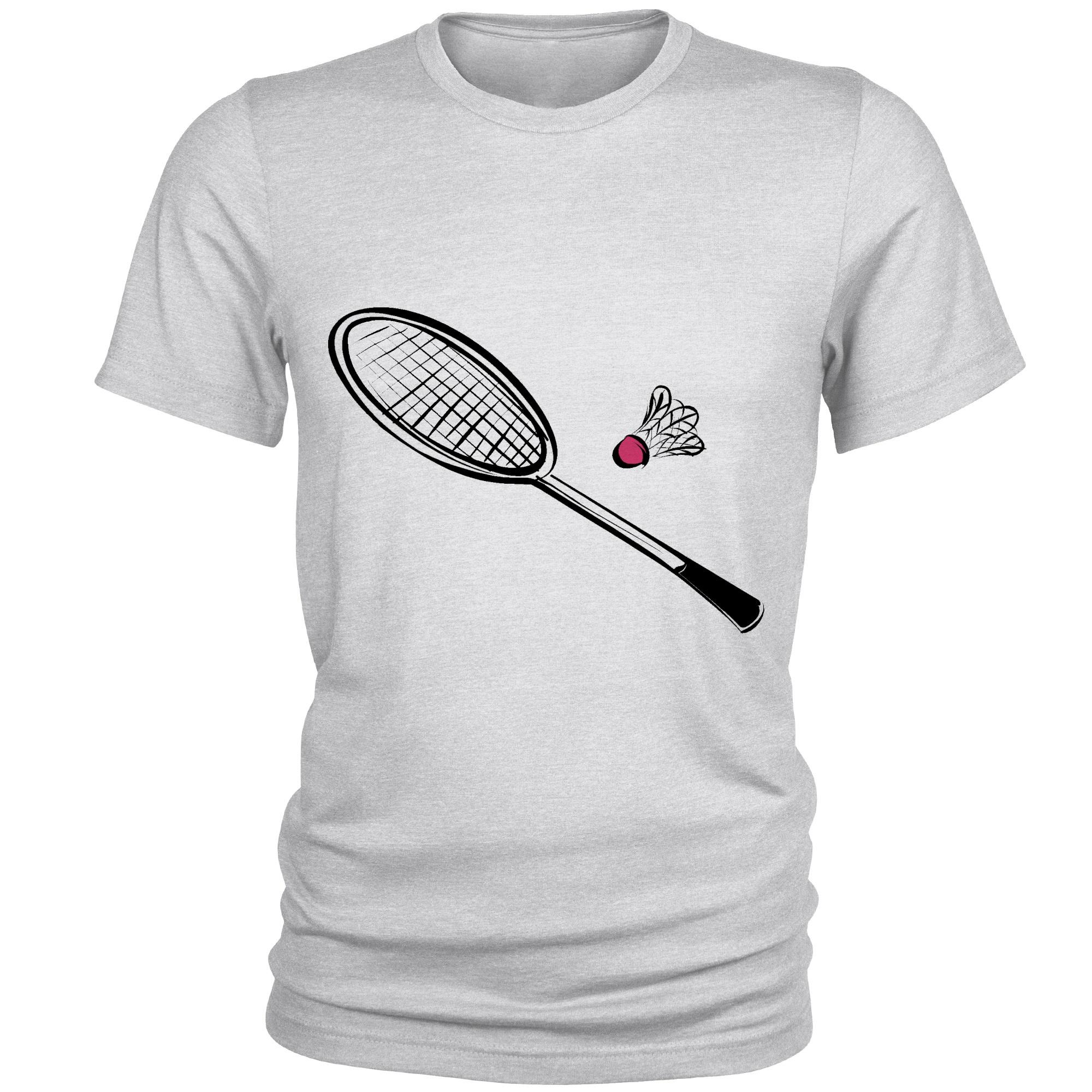 Photo of تی شرت مردانه طرح بدمینتون کد S120
