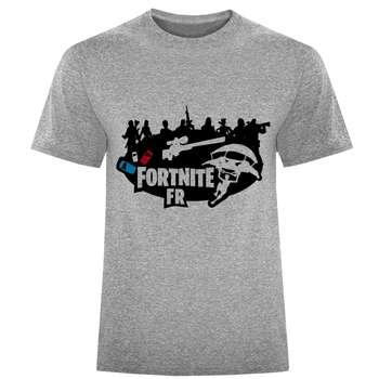 تی شرت مردانه طرح fortnite کد S270