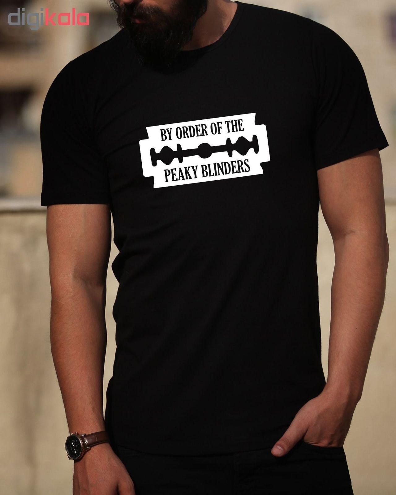 تی شرت مردانه طرح پیکی بلایندرز کد 34334 main 1 1