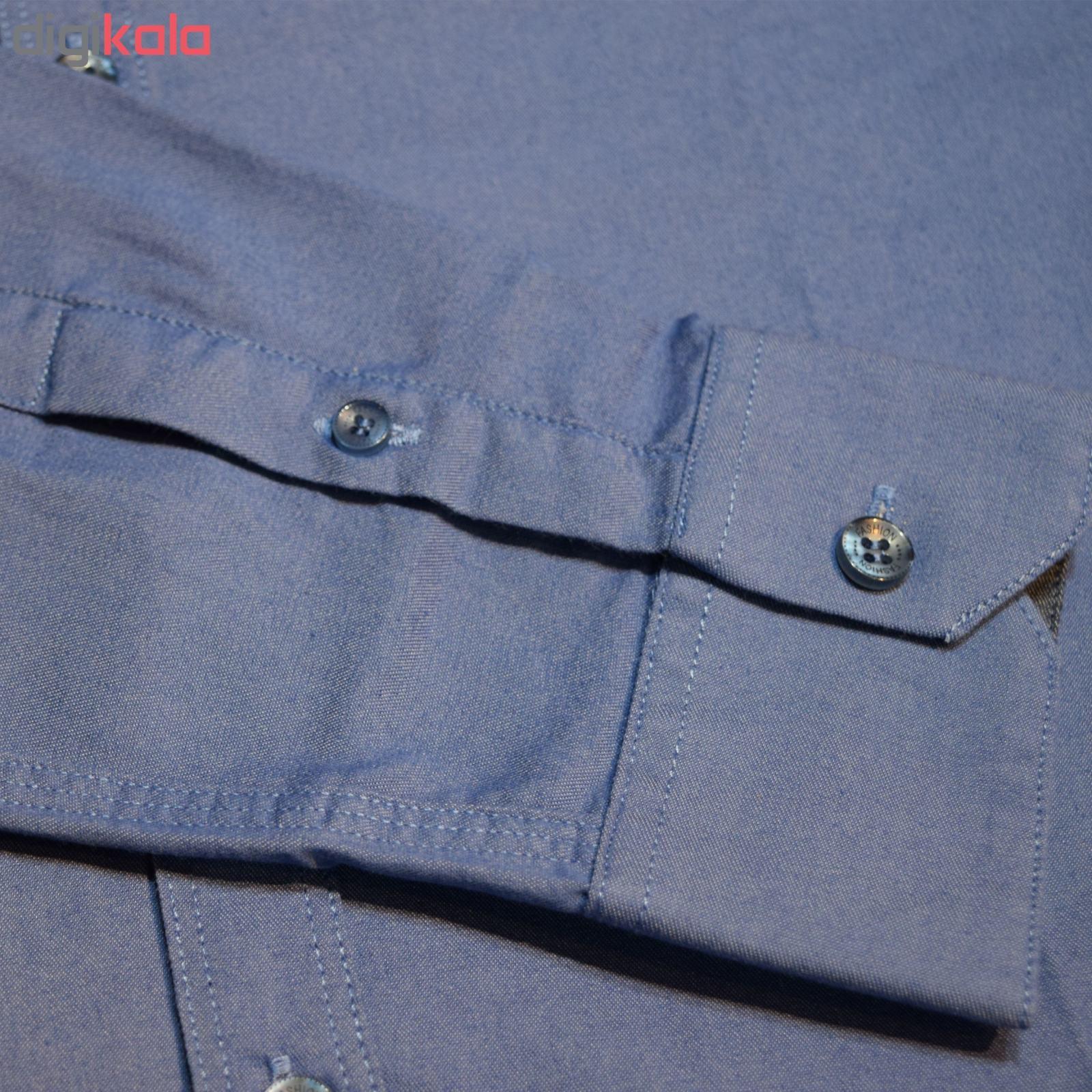 پیراهن مردانه پایتی جامه کد 1891615 main 1 6