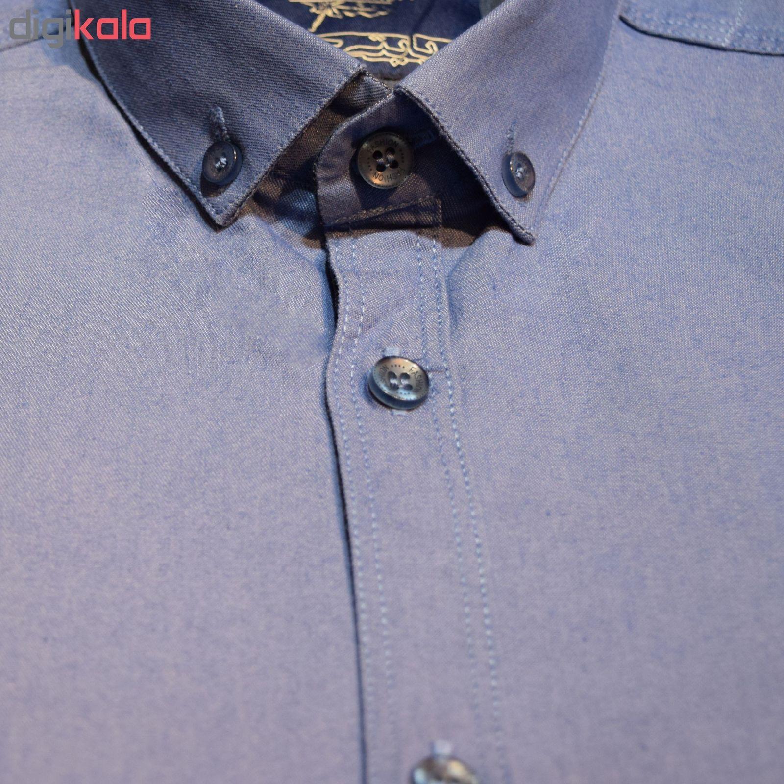 پیراهن مردانه پایتی جامه کد 1891615 main 1 7