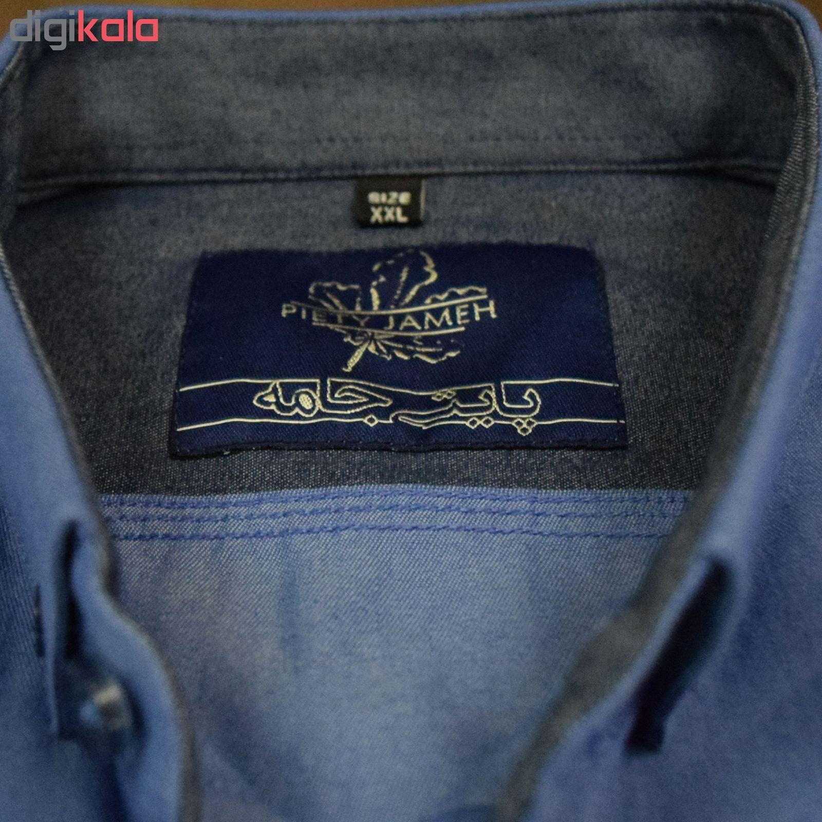 پیراهن مردانه پایتی جامه کد 1891615 main 1 8