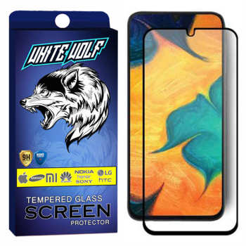 محافظ صفحه نمایش مات وایت ولف مدل WGM مناسب برای گوشی موبایل سامسونگ Galaxy A20
