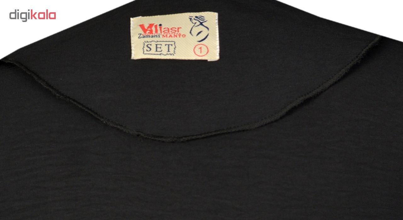 مانتو نه مانتو ولیعصر مدل مهنوش کد 47901
