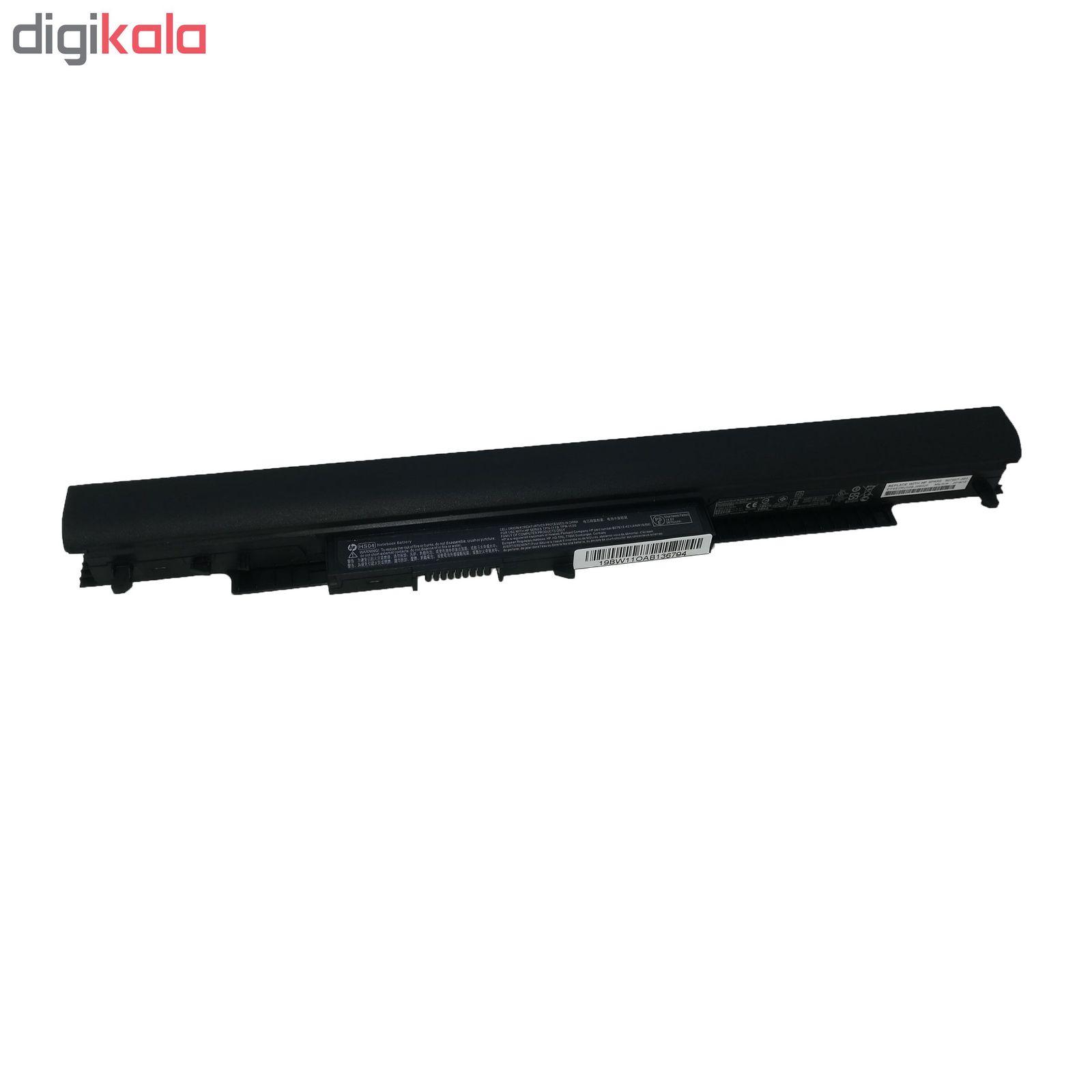 باتری لپ تاپ 4 سلولی مدل HS04 مناسب برای لپ تاپ اچ پی 250 G4 main 1 1