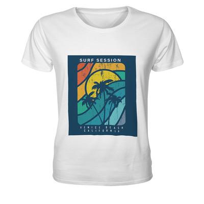تصویر تی شرت مردانه طرح ساحل رنگی کد TMBF3028
