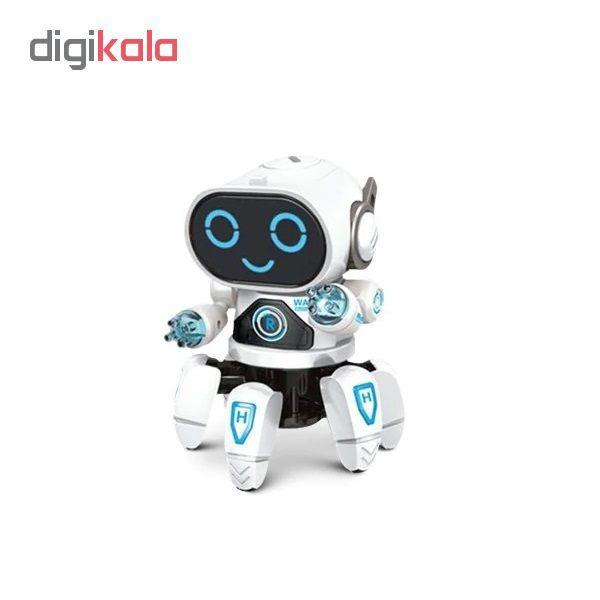 ربات اسباب بازی طرح هشت پا مدل AK main 1 1
