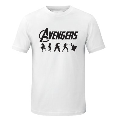 تصویر تیشرت مردانه طرح Avengers کد asd 06