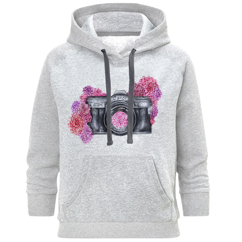 هودی زنانه طرح دوربین کد S230