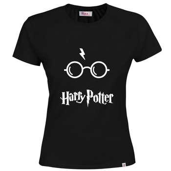 تی شرت آستین کوتاه زنانه طرح Harry Potter کد M64