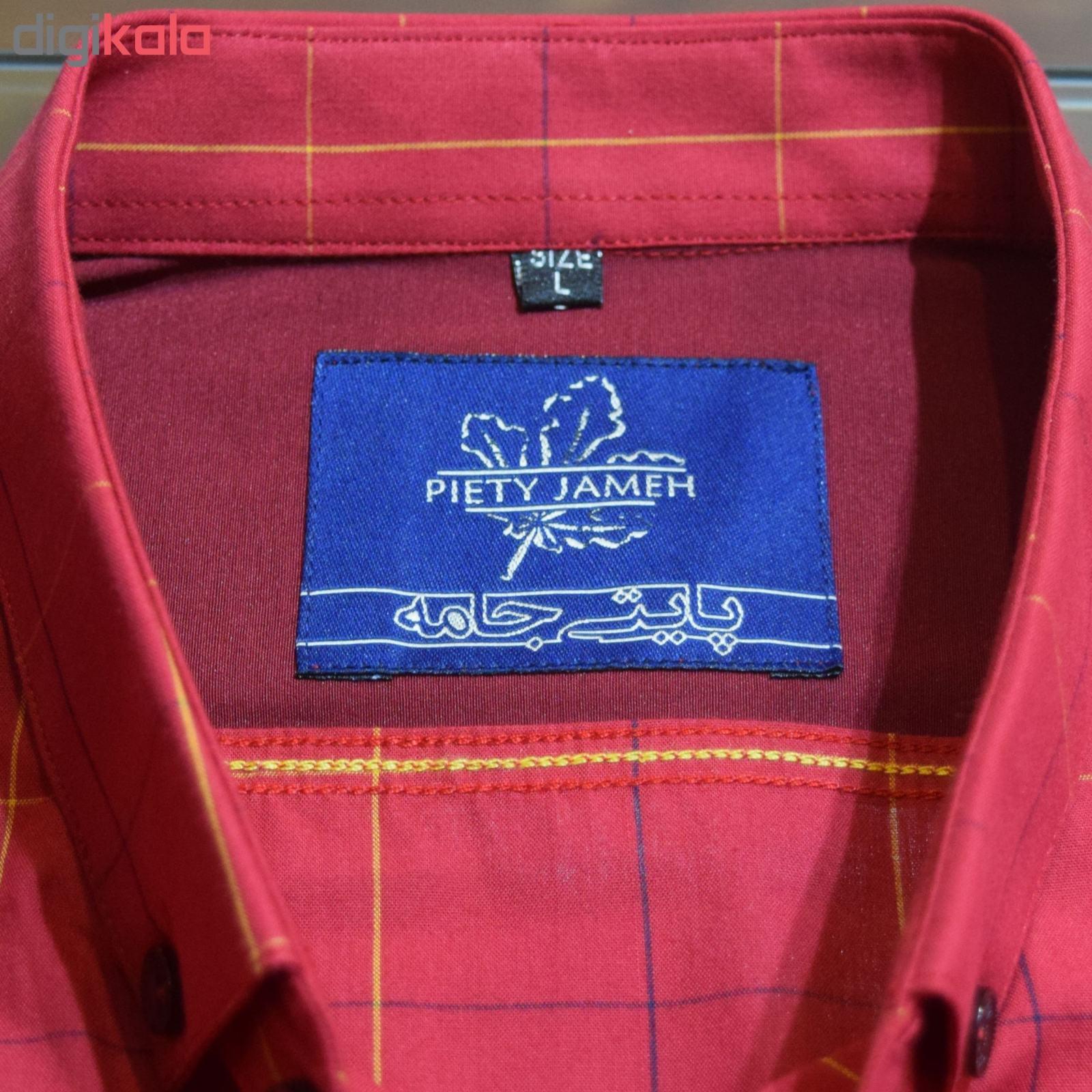 پیراهن مردانه پایتی جامه کد 1901516 main 1 2