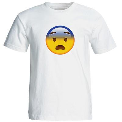 Photo of تی شرت آستین کوتاه زنانه طرح اموجی کد 9278