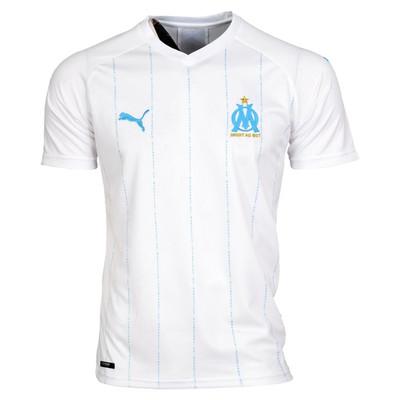 تصویر تی شرت ورزشی مردانه طرح مارسی کد 20-home2019 رنگ سفید