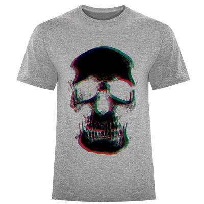 تی شرت مردانه طرح اسکلت کد S298