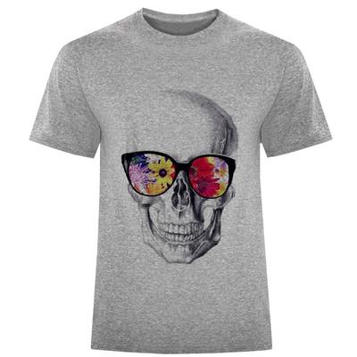 Photo of تی شرت مردانه طرح اسکلت کد S313