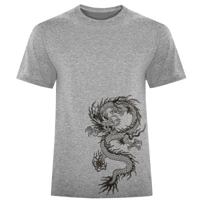 Photo of تی شرت مردانه طرح اژدها کد S322