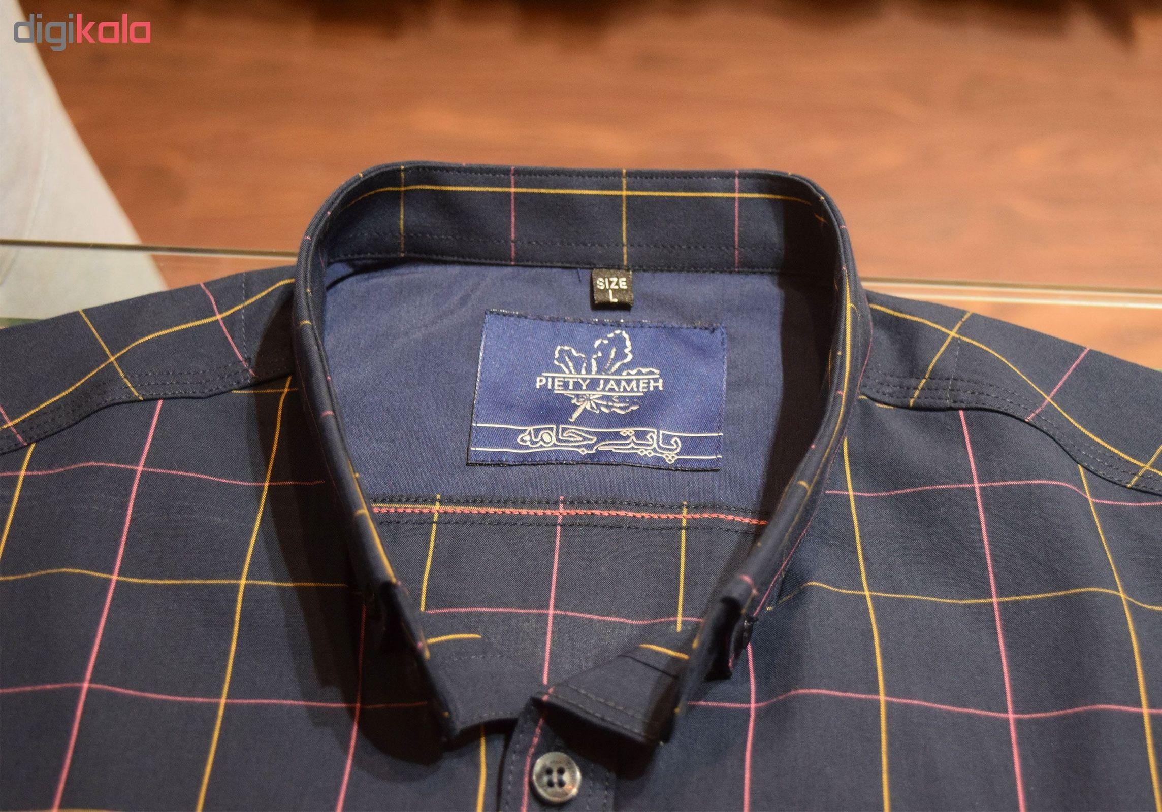پیراهن مردانه پایتی جامه کد 1908047 main 1 2