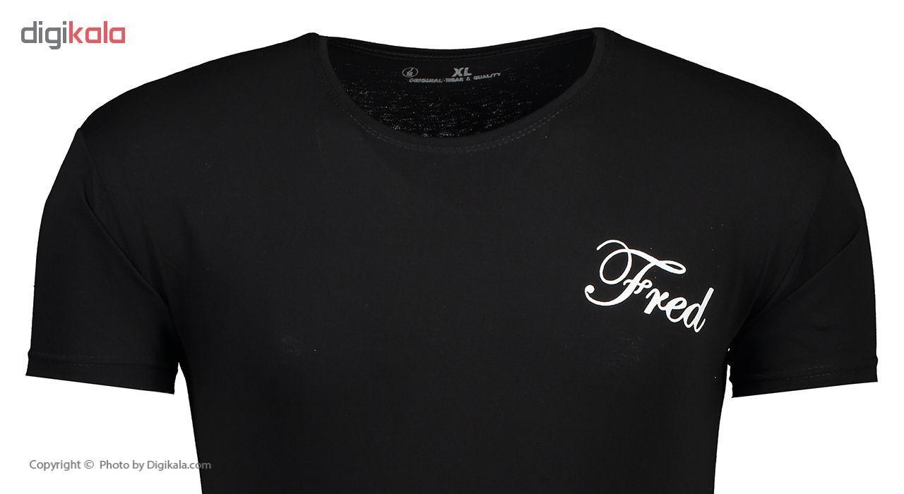 تی شرت مردانه فرد کد T.f.001 مجموعه دو عددی main 1 5