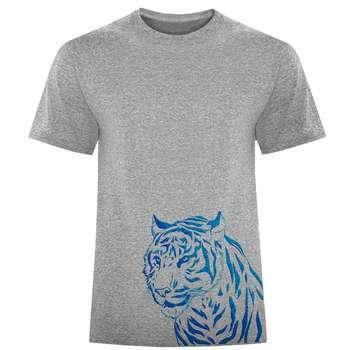 تی شرت مردانه طرح ببر کد S341