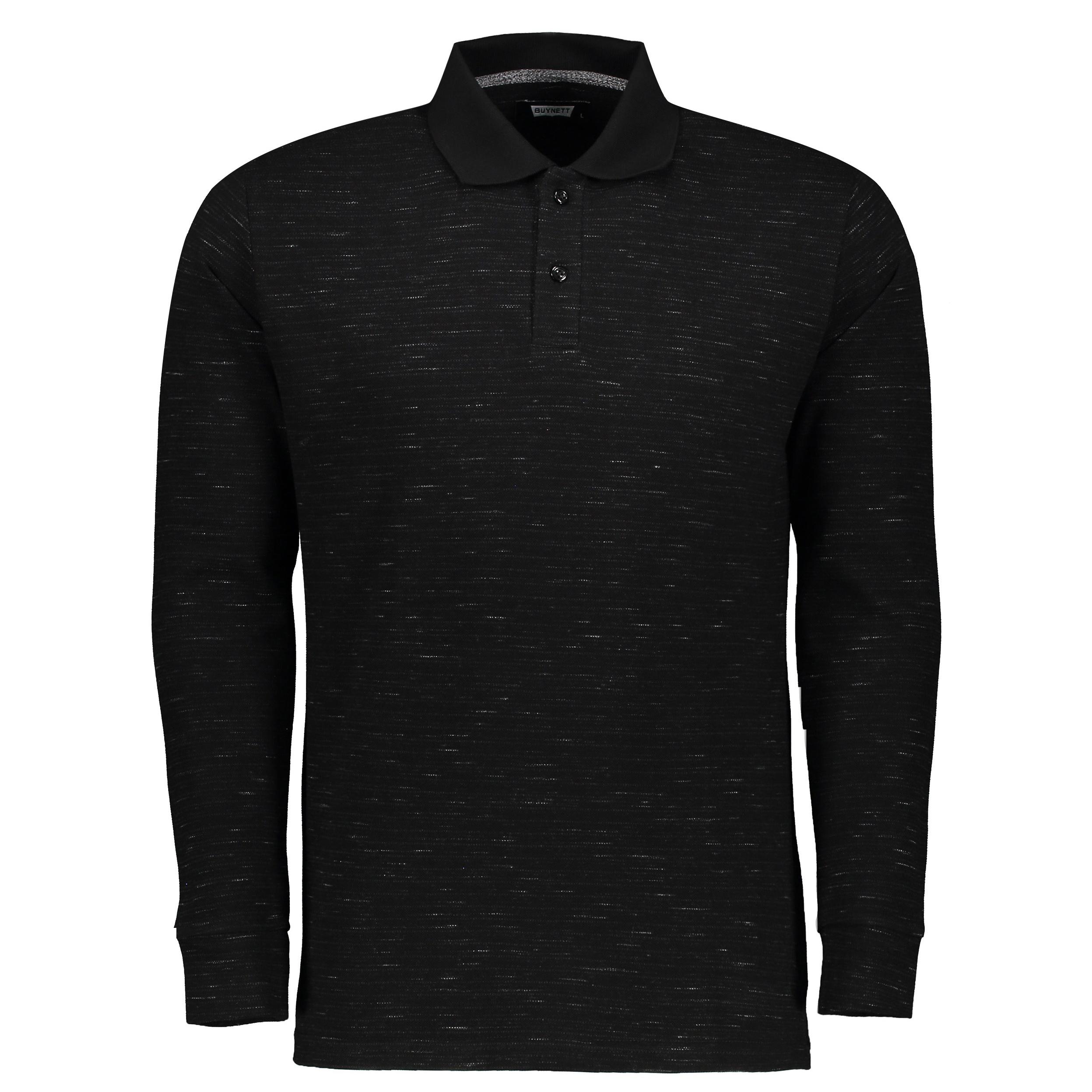پولو شرت آستین بلند مردانه باینت کد btt1-346