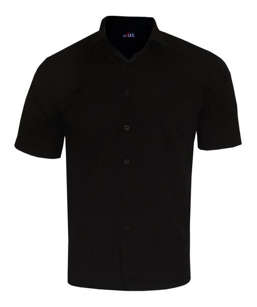 پیراهن آستین کوتاه مردانه نگین کد DAK-20344 رنگ مشکی