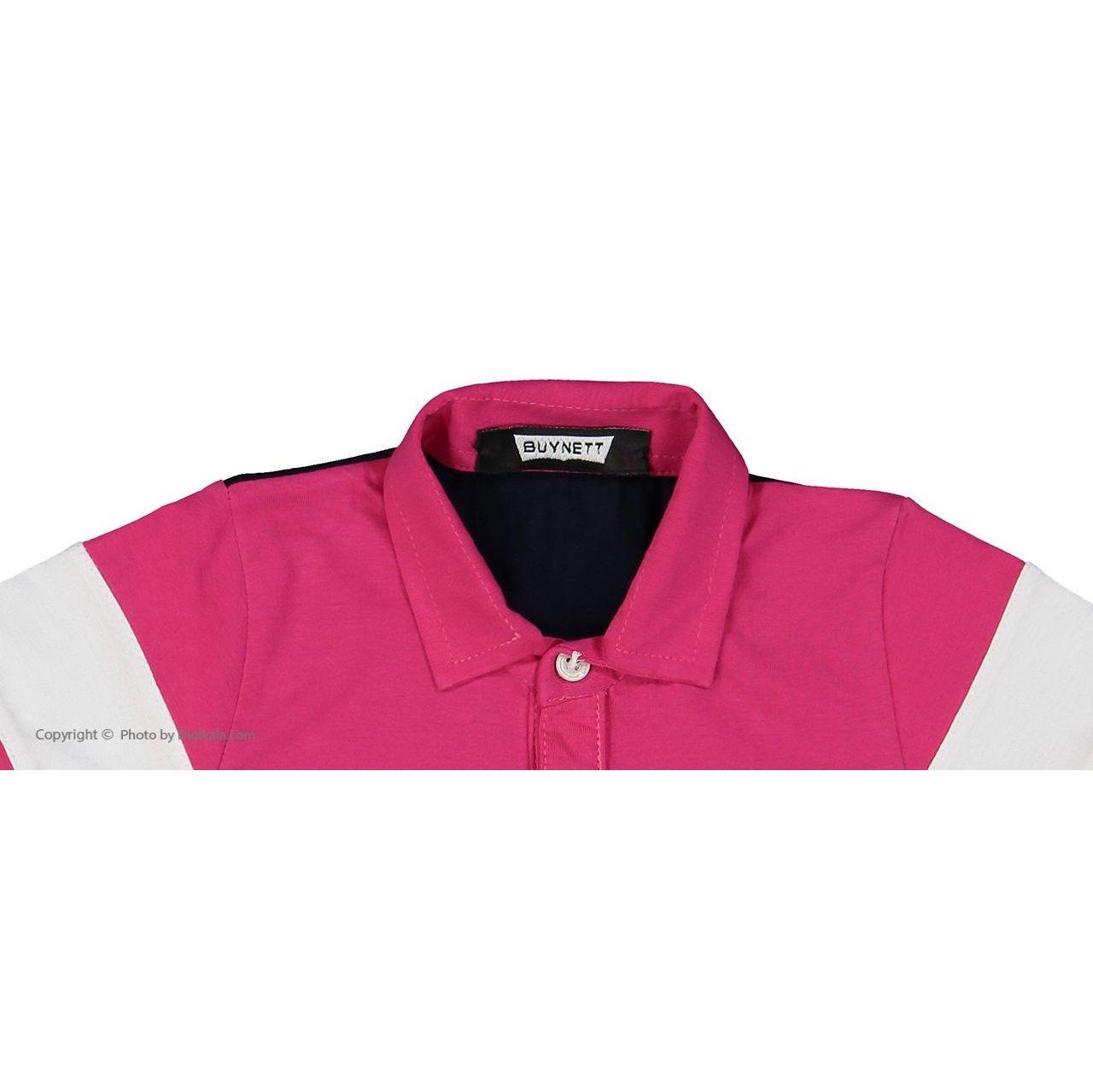پولو شرت آستین کوتاه پسرانه بای نت کد btt11 -  - 2