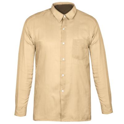 تصویر پیراهن مردانه کد PM001 رنگ کرم