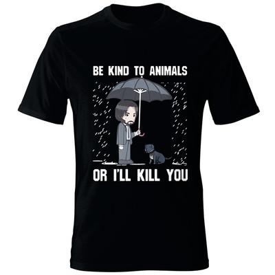 Photo of تی شرت مردانه طرح جان ویک کد 005