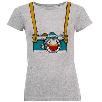 تی شرت زنانه طرح دوربین کد B182